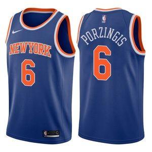 Men's New York Knicks Kristaps Porzingis Jersey